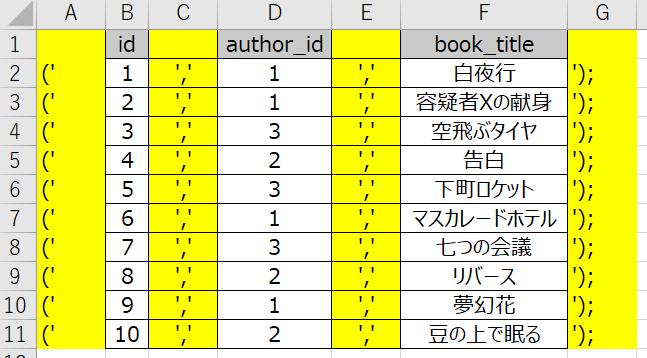 SQL一括2