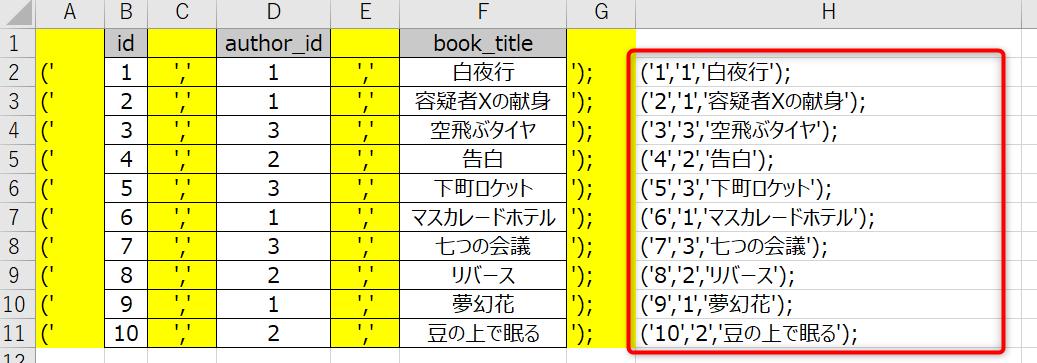 SQL一括4
