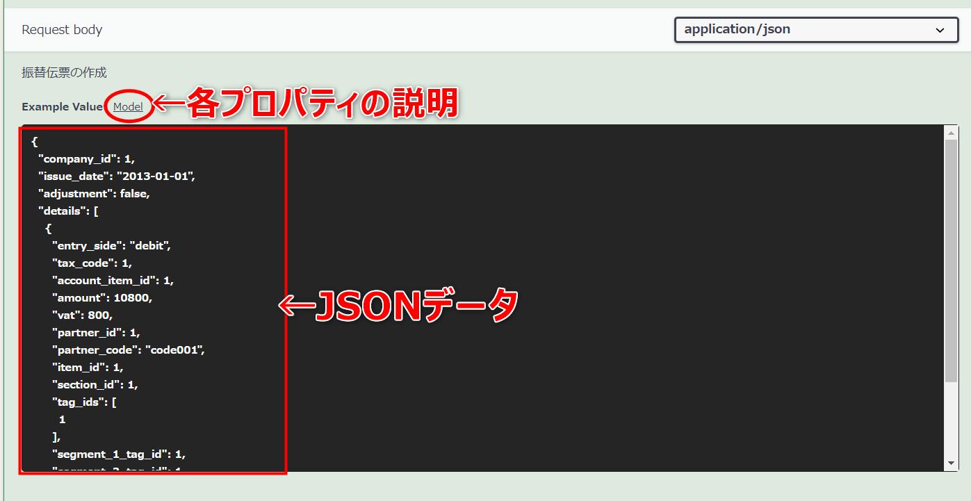 JSONデータ